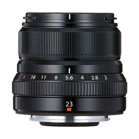 Lensa Fujifilm 23mm jual lens fujifilm xf 23mm f 2 r wr lens black