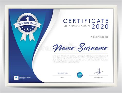 ed2go web design certificate review vector certificate template blue abstract background