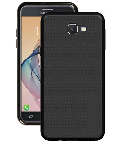 Clear View Cover Samsung J7 Prime samsung galaxy j7 prime cover by knotyy black plain