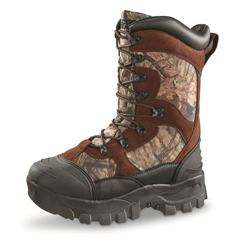 waterproof insulated boots for guide gear s monolithic waterproof insulated