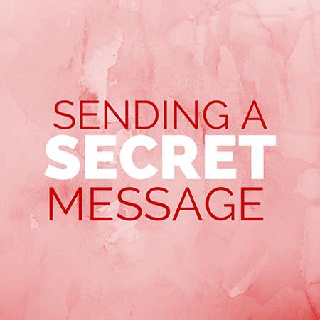 send secret sending a secret message homeschool science corner
