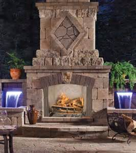Patio Wood Burning Fireplace by 36 Quot Vq36 Vantage Hearth Premium Sagamore Outdoor Stainless