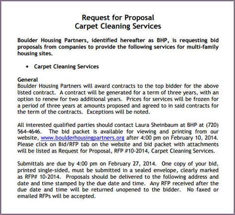 SAMPLE CLEANING PROPOSAL LETTER   proposalsampleletter.com