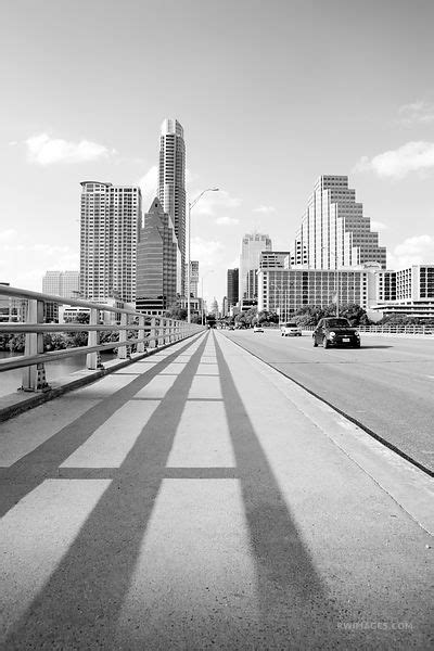 Austin - Black and White |||| Photos Prints Framed