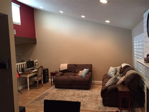need help decorating large wall vaulted ceiling