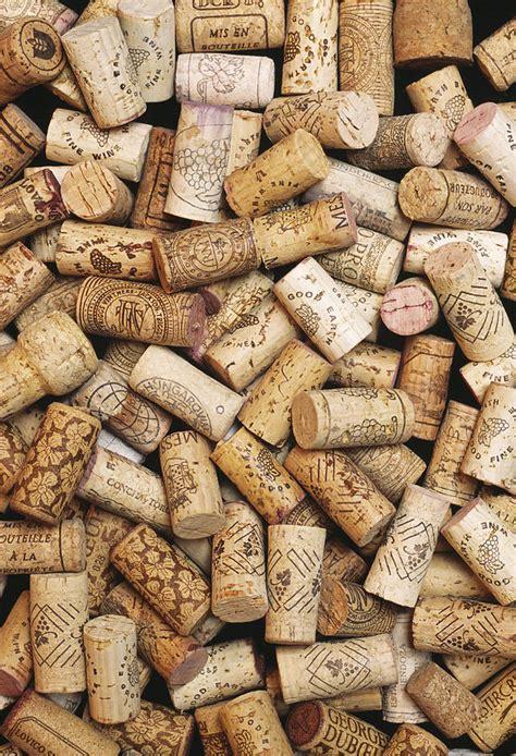 wine corks wine bottle corks photograph by alan sirulnikoff