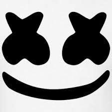 marshmello eyes marshmello dj material design logo marsmellow