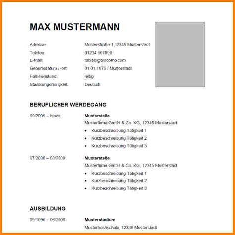 Lebenslauf Vorlage Max Mustermann 5 Lebenslauf Aktuell Resignation Format