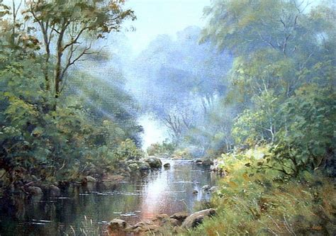 Landscape Pictures For Acrylic Painting Acrylic Landscape Painting Tranquil Flickr