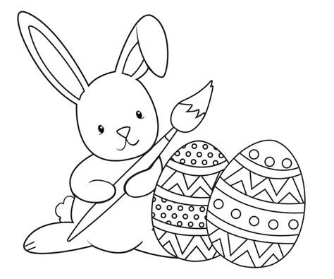 easter coloring pages free online get this easter bunny coloring pages free 51992