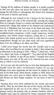 Ghandi Essay by Essay On Gandhi
