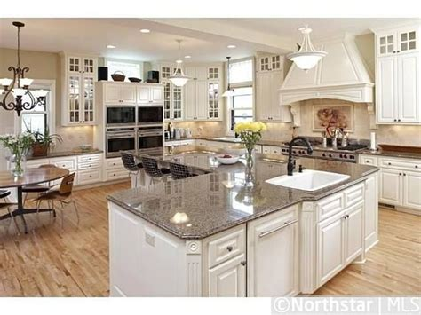 kitchen plans with island and pantry large island with an l shaped kitchen ideas images