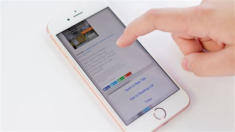 introducing 3d touch on the iphone 6s 6s plus iphone 6 manual