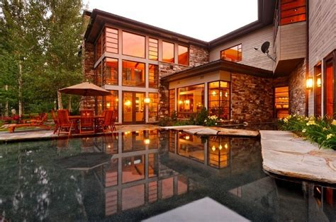 Luxury Homes For Sale In Aspen Colorado Contemporary Mountain Estate In Aspen Colorado For Sale