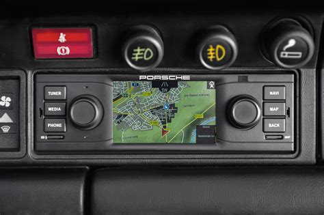 back to the future porsche s navigation radio for classic