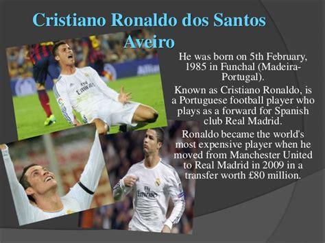 Biography En Ingles De Cristiano Ronaldo | cristiano ronaldo biography