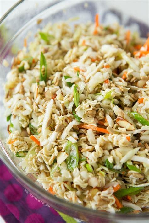 Lezat Sekejap 30 Salad Asia ridiculously amazing asian ramen salad keeprecipes your universal recipe box