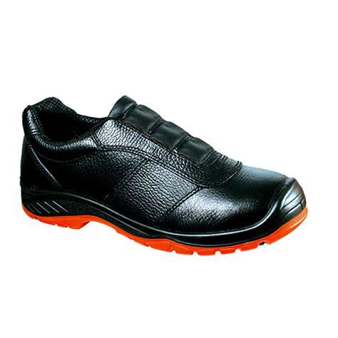 Supplier Slip On Brukat Hitam 3st2 harga sepatu safety proyek stallion slip on 9155