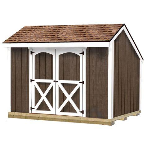 barns aspen  ft   ft wood storage shed kit