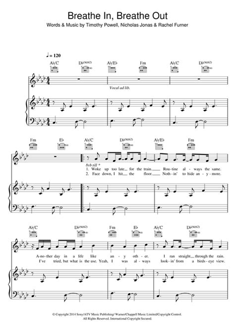 Breathe In, Breathe Out - Tich | Sheet Music Deluxe