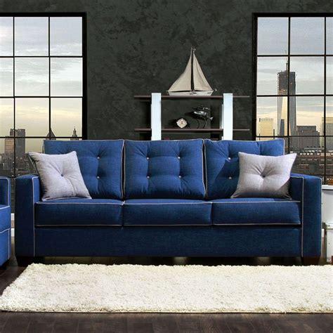 I Sofa by Ravel I Sofa Blue By Furniture Of America Furniturepick