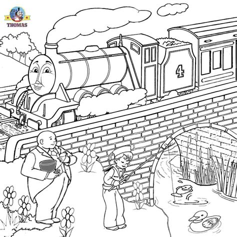 free coloring pages of gordon thomas the tank