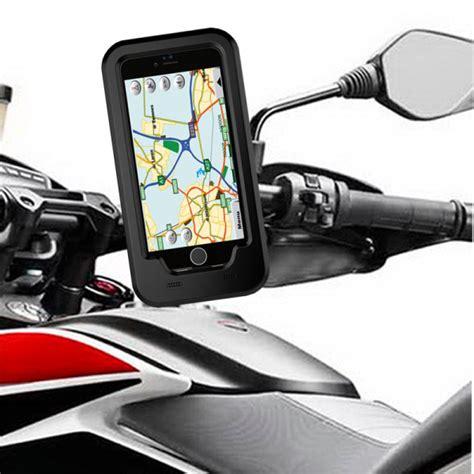 Waterproof Motorcycle 5 5inch Holder Motor Waterproof 4 5 5 inch phone gps holder waterproof handlebar motorcycle bike for iphone 7 7 plus iphone 6s