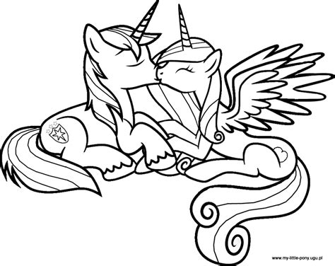 coloring pages my little pony shining armor free coloring pages of my little pony shining armor