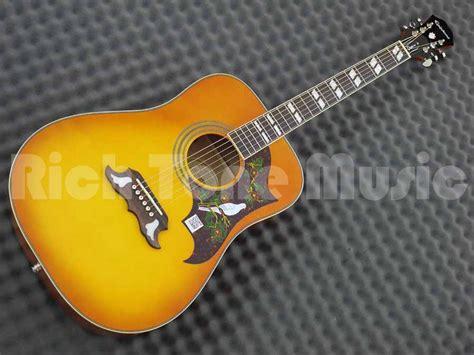 Harga Gitar Epiphone Dove Pro epiphone dove pro acoustic electric rich tone