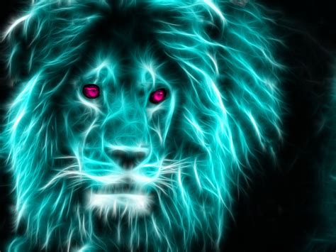 wallpaper colorful lion 7 neon lion by theferraci on deviantart 1039 stunning