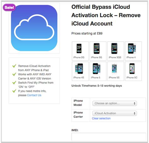 tech apple tech icloud removal service to bypass icloud activation lock