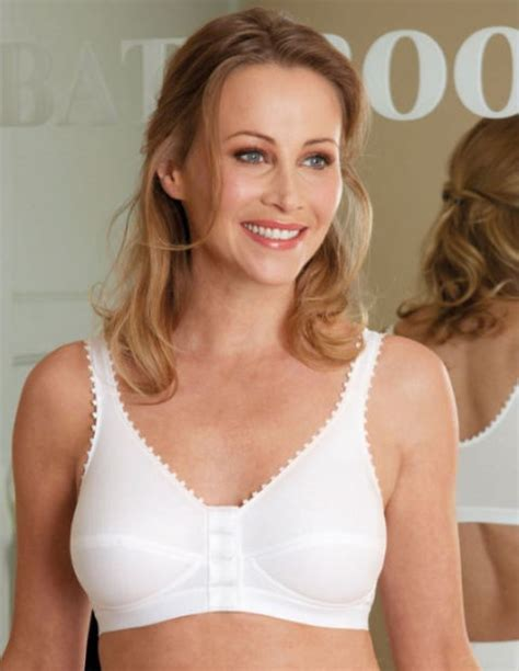 what is the most comfortable bra for large breasts royce front fastening bra 1010 wirefree post surgery comfi