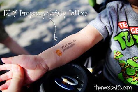 safety tattoos diy temporary safety tattoos treasure trove