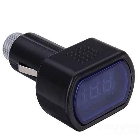 Voltmeter Digital Led Cr7 Alat Ukur Tegangan Aki monitor aki teknik baru menghitung aki mobil secara