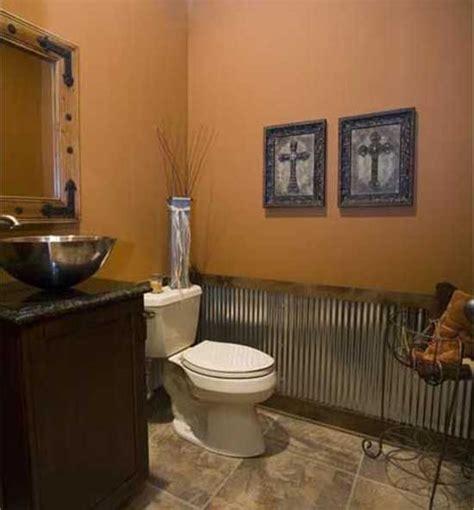 rustic bathroom walls half bathroom wall color trend home design and decor