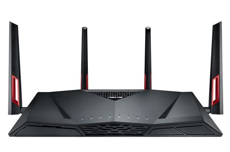 Asus Routers asus unveils the rt ac88u router with an 8 port gigabit switch
