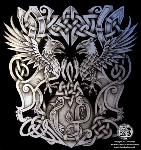 family crest coat of arms by tattoo design on deviantart
