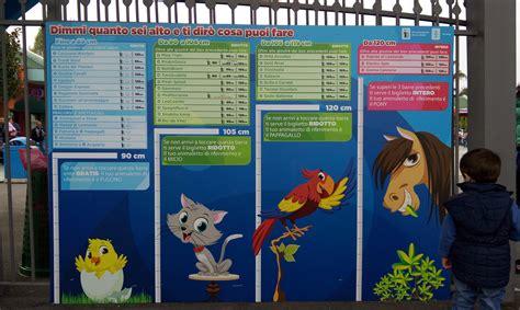costo ingresso minitalia parchi per bambini piccoli leolandia patatofriendly