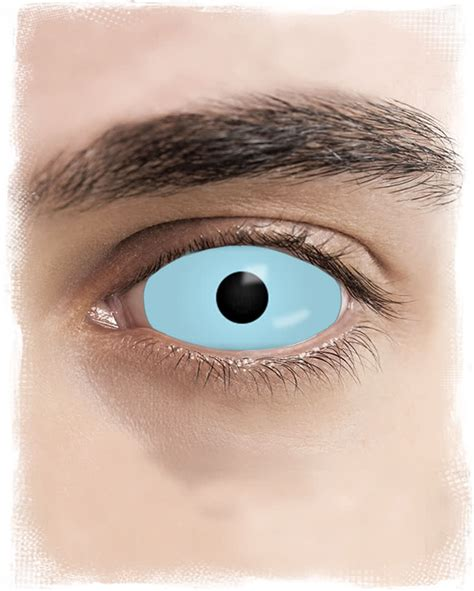 Light Blue Contacts by Sclera Contact Lenses Light Blue Complete Covering Eye