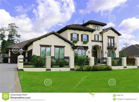southern home builders beautiful southern homes stock photo image 43867755