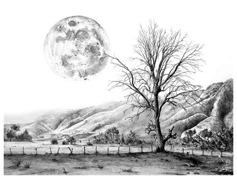 Drawing Landscapes by Pencil Landscape Drawing Landscape Pencil Drawing