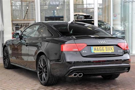 Audi A5 Black Edition by Used 2017 Audi A5 2 0 Tdi 190 Black Edition Plus 2dr For