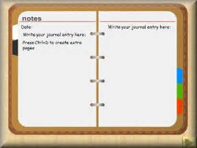 diary writing template ks1 literacy