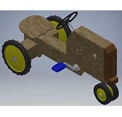 DIY Pedal Tractor 12 Steps