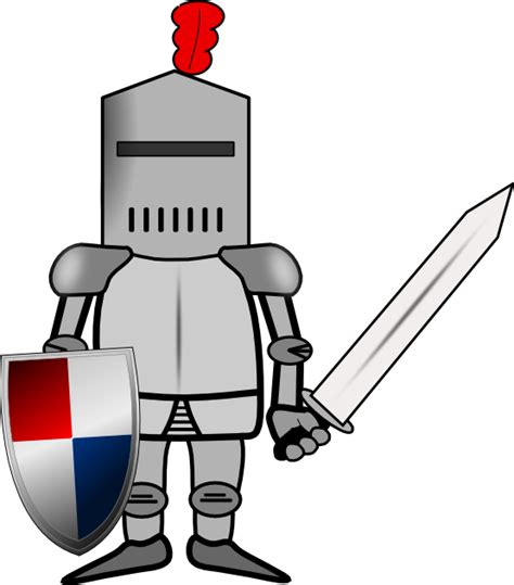 format video clip knight clip art in vector or format free clipartix