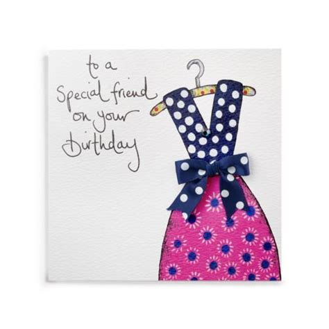 Simple Handmade Birthday Cards For Friends - to a special friend handmade birthday card 163 3 99 a
