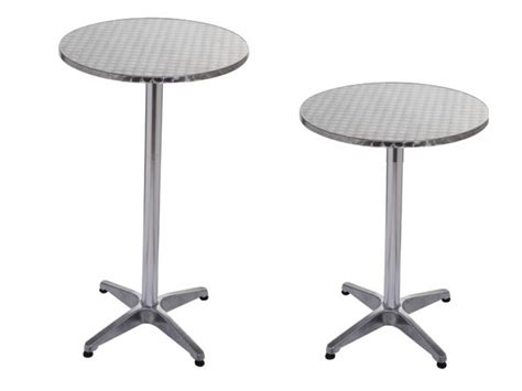 High Bar Table Aluminium Bar Table High Table Cocktail Table Bar Tables 216 60cm H 70 110cm Ebay