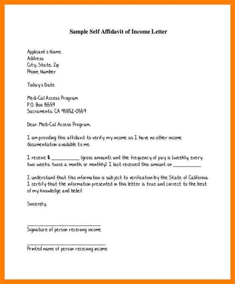 how to write a letter for self employment cover letter