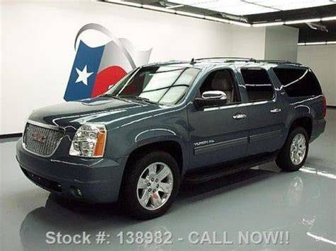manual cars for sale 2010 gmc yukon navigation system sell used 2010 gmc yukon xl slt leather nav rear cam 20 s 58k mi texas direct auto in stafford