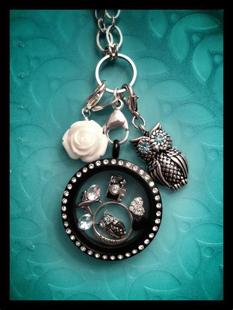 black origami owl locket this look origami owl it s okay to